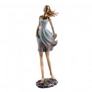 Статуэтка Девушка в белом 12,5х8х33 см
