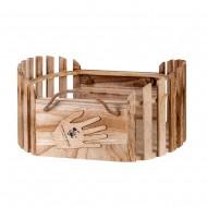 Кашпо деревянное  40х30х20 см