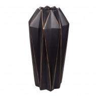 Ваза напольная коричневая с золотом 45х45х85 см