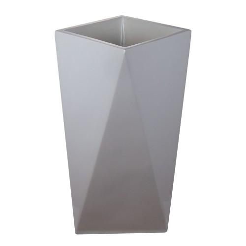Ваза напольная белая  53х53х80 см