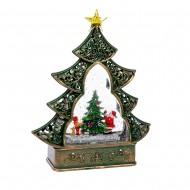 Новогоднее украшение Ёлочка на батарейках  22х6,5х29 см
