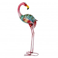 Интерьерное украшение Фламинго 92х33 см