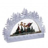 Новогоднее украшение Рождество 29х7х23 см