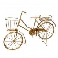 Подставка интерьерная Велосипед ( цвет золото)  50х34 см