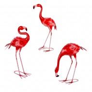 Интерьерное украшение Фламинго 60/48/39 см