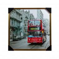 Панно настенное Лондон 73х73 см