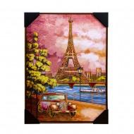 Панно настенное Париж 52х72 см