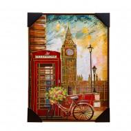Панно настенное Лондон 52х72 см