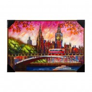 Панно настенное Лондонский пейзаж 62х92 см