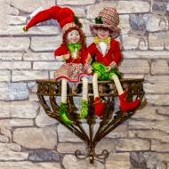 Новогоднее украшение Эльф 60 см