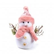 Новогоднее украшение Снеговик 23 см