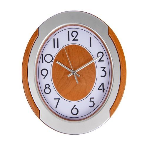 Часы настенные овальные 30х35 см