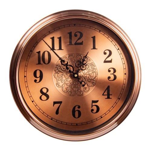 Часы настенные металлические 40х40 см