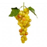 Искусственный желтый Виноград 23 см