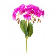 Цветок искусственный Орхидея 40 см  (пурпурного цвета)