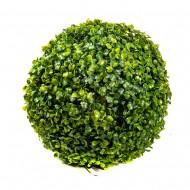 Искусственная зелень в форме шара 28 см
