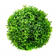 Искусственная зелень в форме шара 15 см