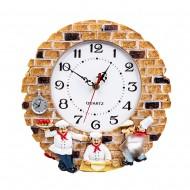 Часы настенные Повара 30х30 см