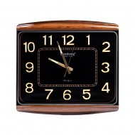 Часы настенные 52х46 (черный циферблат)