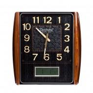 Часы настенные 53х49 (циферблат черный)