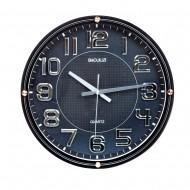 Часы настенные 45х45 см черные