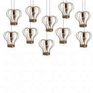 Интерьерное украшение Подвесные светильники в форме кароны  25 см 10 шт