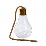 Интерьерное украшение Лампочка 12х20 см