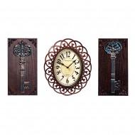Часы настенные + Панно 2 шт Ключи  59х31 см