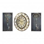 Часы настенные + Панно 2 шт Ключи.59х31 см