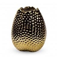 Вазочка  21х9х9 см  (цвет золотистый)