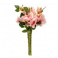 Букет искусственных Роз ( цвет розовый ) 45 см