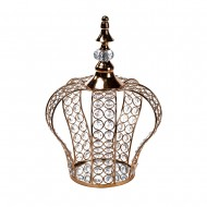 Интерьерное украшение Корона 34х14 см