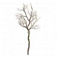 Искусственная ветка (цвет коричневый) 93 см