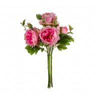 Цветы искусственные букет роз 44 см