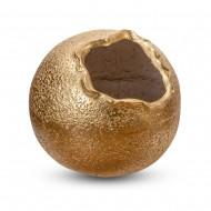 Ваза напольная круглая золото 55х55х55 см