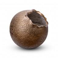 Ваза напольная круглая бронза 55х55х55 см