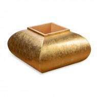 Ваза напольная золото 65х65х75 см