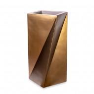 Ваза напольная бронза 53х53х100 см