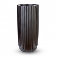 Ваза напольная черная 40х40х120 см