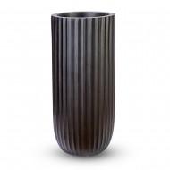 Ваза напольная черная 40х40х90 см