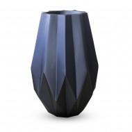 Ваза напольная черная 40х40х60 см