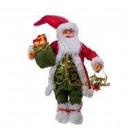 Новогоднее украшение Дед Мороз с подарками 61 см