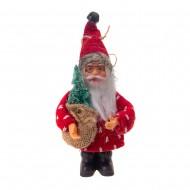 Новогоднее подвесное украшение Дед Мороз 13 см