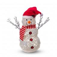 Новогоднее украшение Снеговик USB 37 см
